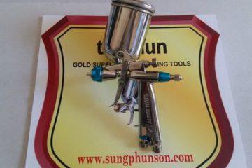 Các model súng phun sơn mini được sử dụng nhiều nhất trên thị trường